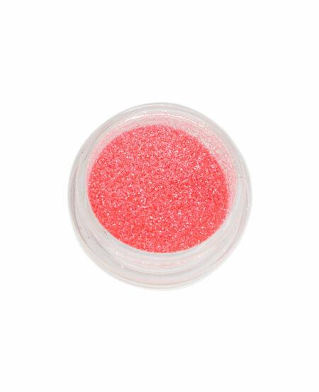 Polvere Glitter Sottile - Corallo Neon