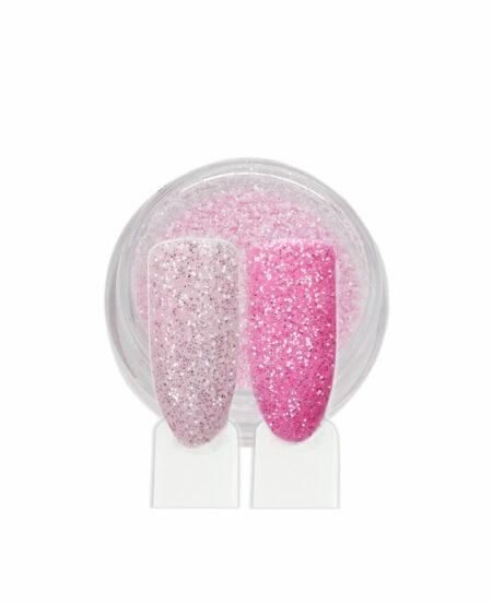 Polvere Glitter Sottile - Rosa Scuro