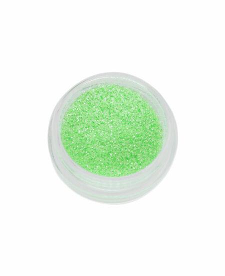 Polvere Glitter Sottile - Verde Neon