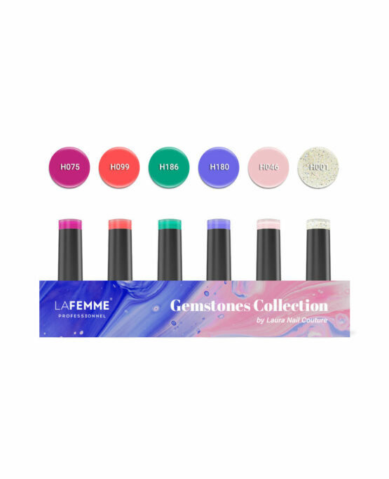 kit collezione colore gemstones by laura nail couture