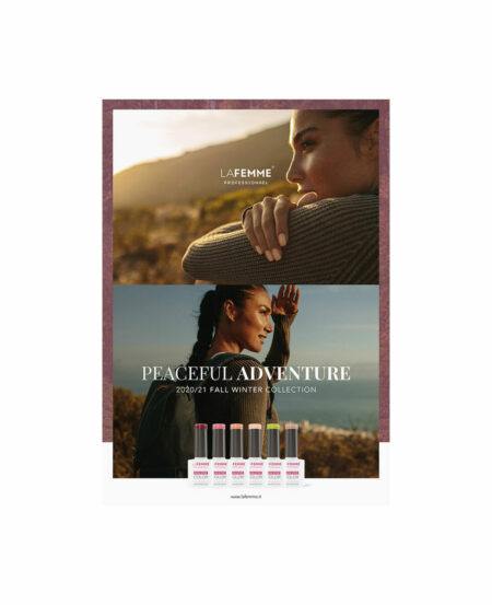 Poster NON STOP COLOR™ - Peaceful Adventure - Fall Winter 2020 - 50x70cm