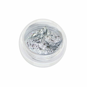 Foglia decorativa - argento