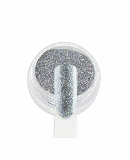 Polvere Glitter Olografica - Argento