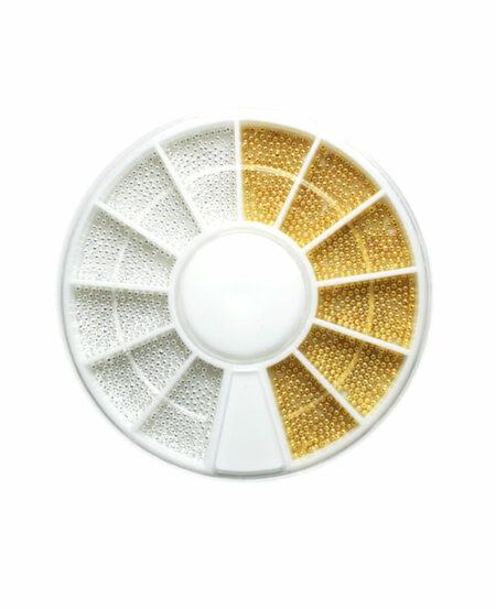 Ruota con Microsfere - Oro e Argento