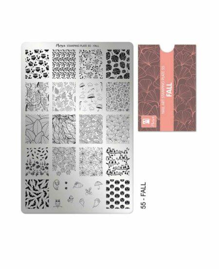 Piastra Stamping Moyra® 55 - Fall - 9,5cm x 14,5cm