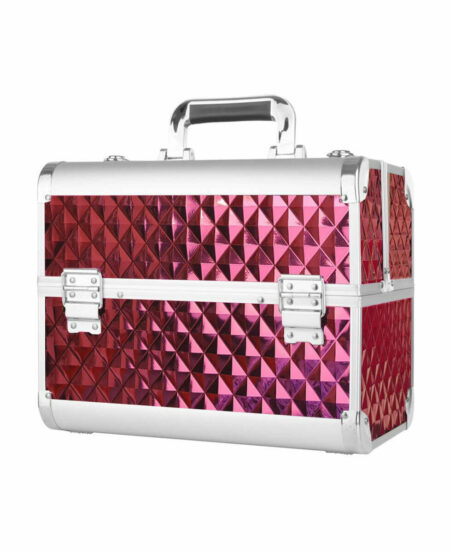 Beauty Bag (Make-Up Case) - Rosa Metallizzato