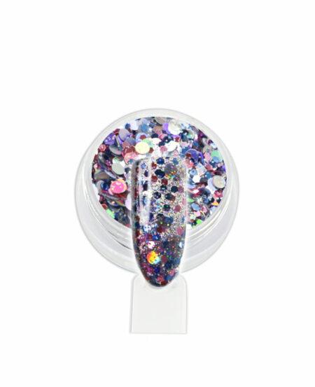 Coriandoli Glitter - Rosa/Azzurro
