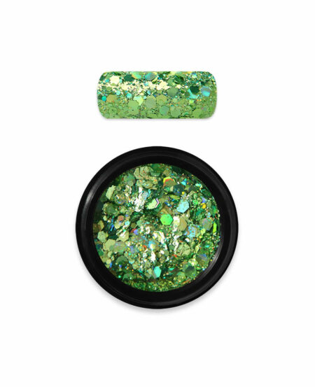 Holo Glitter Mix N.08 - Green