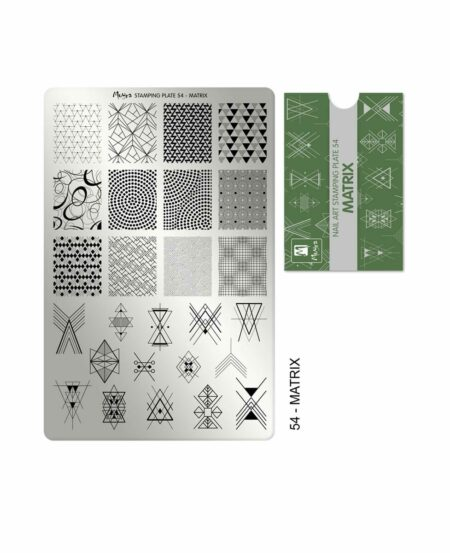 Piastra Stamping Moyra® 54 - Matrix - 9,5cm x 14,5cm