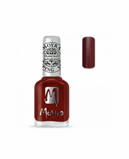 Moyra® Smalto per Stamping - SP03 BURGUNDY RED 12ml