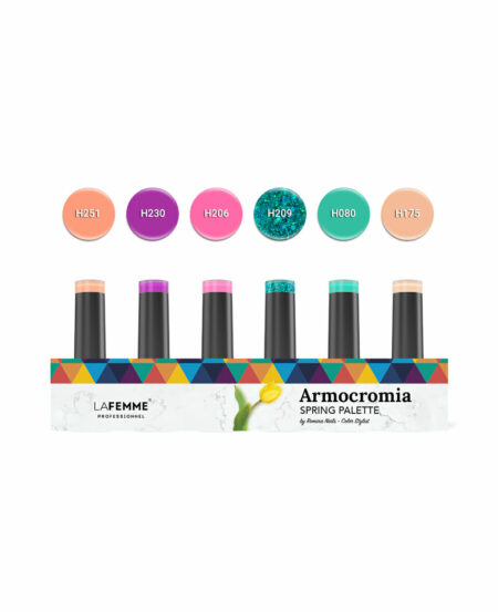 "Kit ""Armocromia"" Spring Non Stop Color™ UV&LED by Romina - 6pz"