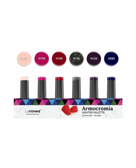 "Kit ""Armocromia"" Winter Non Stop Color™ UV&LED by Romina - 6pz"