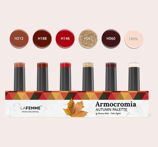 Armocromia La Femme - Smalto semipermanente Non Stop Color - autumn-kit