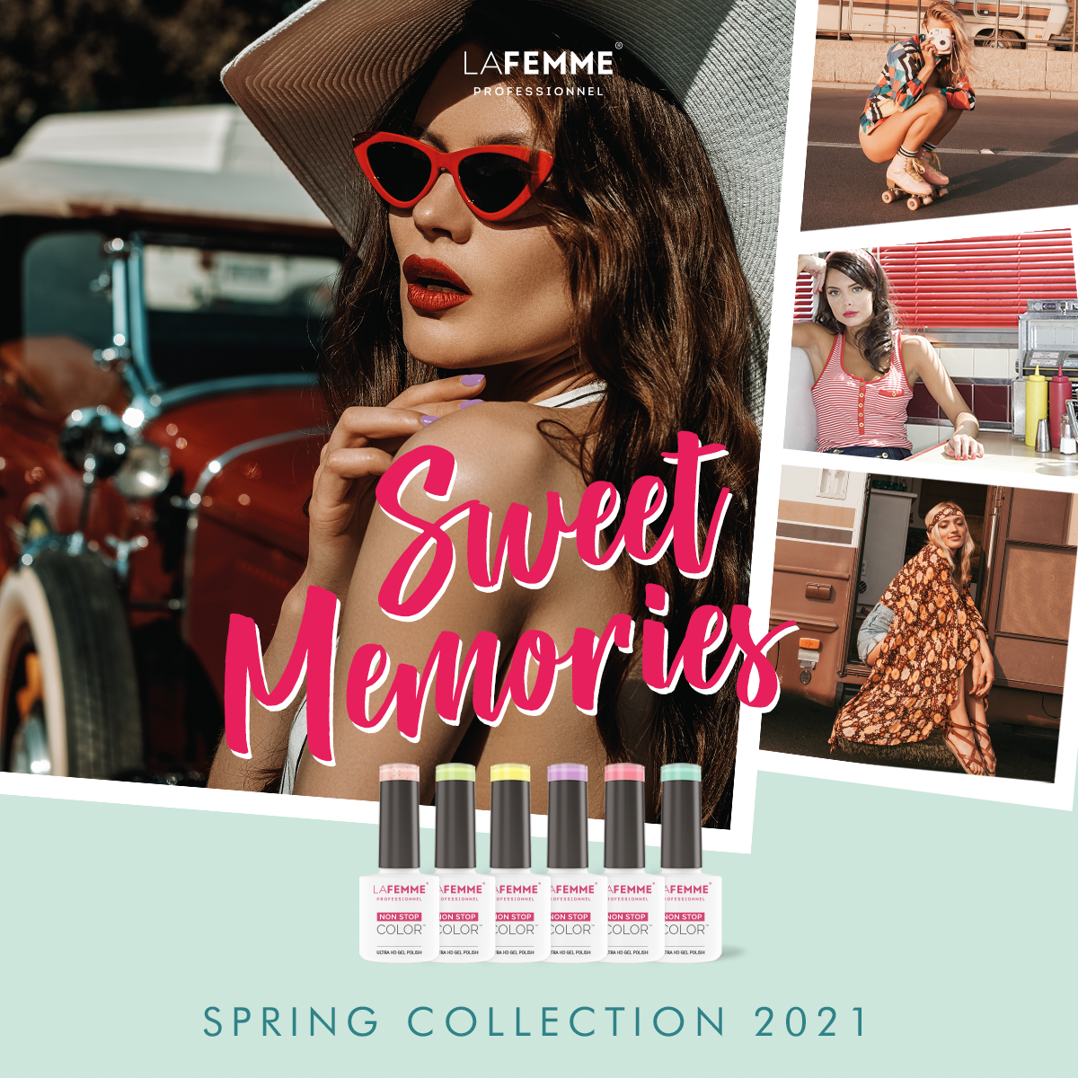 Smalto semipermanente Non Stop Color - Spring Collection 2021
