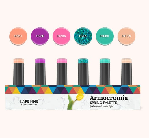 Armocromia La Femme - Smalto semipermanente Non Stop Color - spring-kit