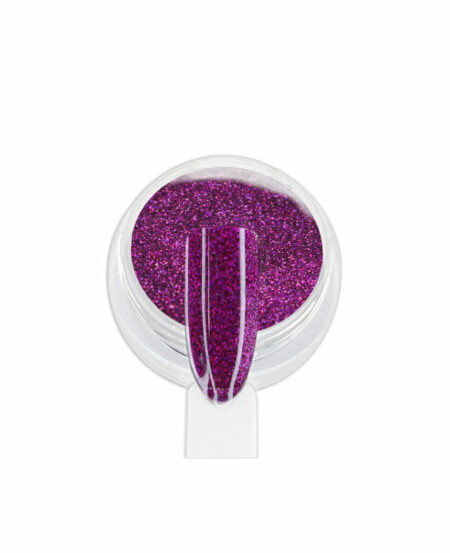 Polvere Glitter Olografica - Magenta