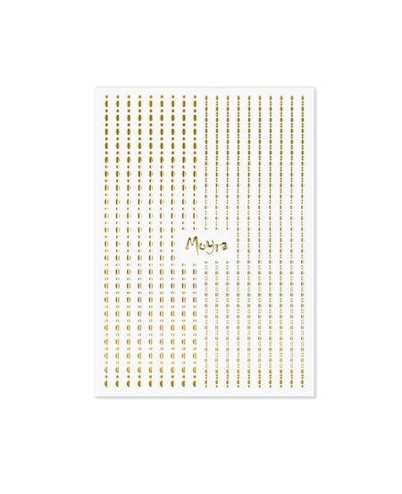 Moyra® Nail Art Strips (strisce adesive) - Puntini N.01 GOLD