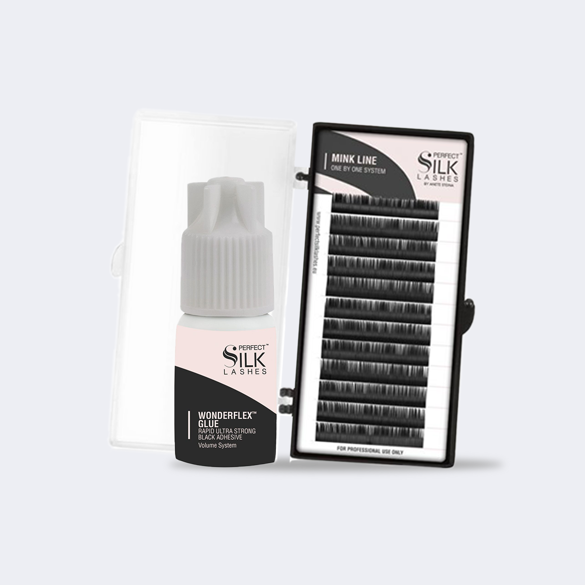 extension ciglia one by one perfect silk lashes