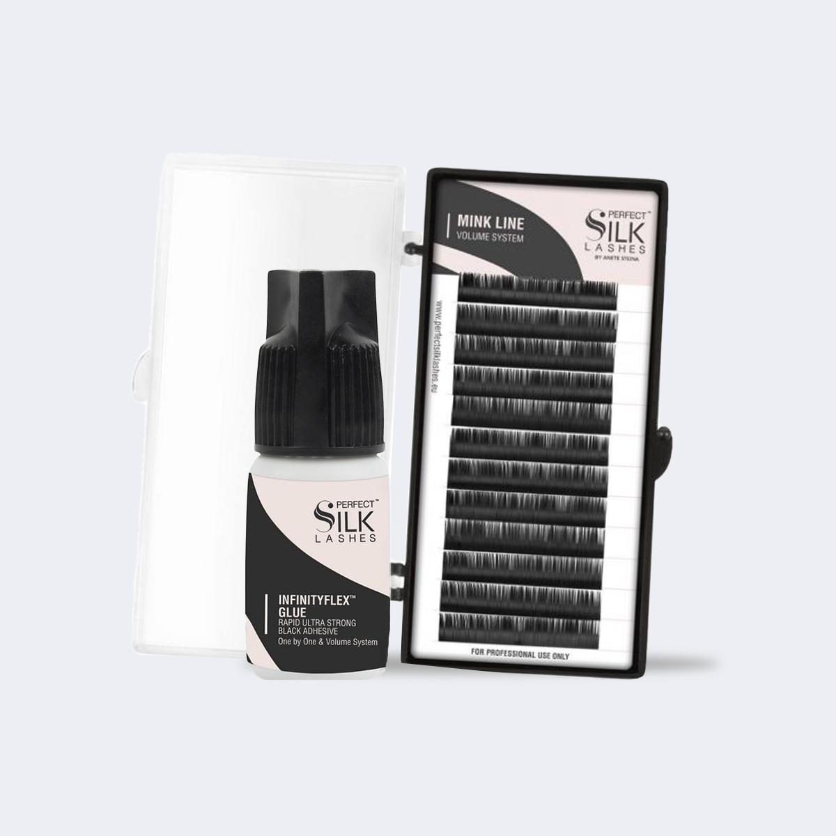 extension ciglia volume system perfect silk lashes