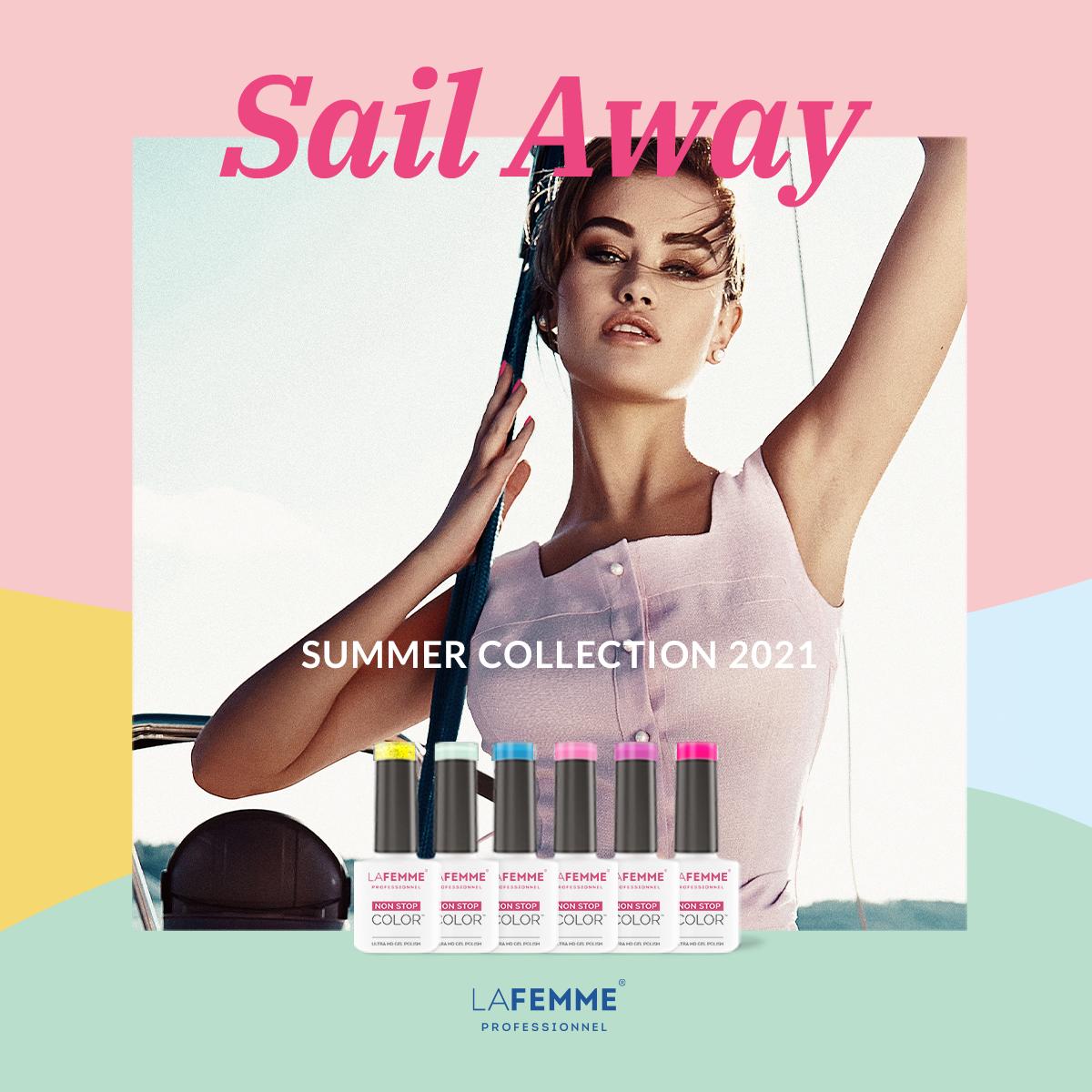 Summer Collection 2021 La Femme Smalto Semipermanente